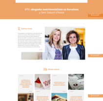 BPM Abogados. A Web Design project by La Teva Web Diseño Web  - 27-04-2017