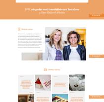 BPM Abogados. Un proyecto de Diseño Web de La Teva Web Diseño Web  - 27-04-2017