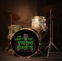 Indy Tumbita & The Voodoo Bandits. Un proyecto de Dirección de arte, Br e ing e Identidad de Emilio Iniesta Vergara         - 04.05.2017