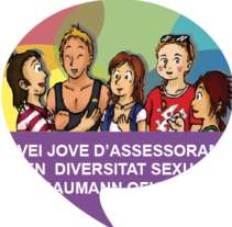 Servei Jove per a la Diversitat Sexual. A Illustration, Character Design, and Graphic Design project by Marimar Laguna - 16-09-2015