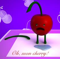 Oh, mon cherry!. Un proyecto de 3D de Fidel Bustamante Atance         - 07.05.2017