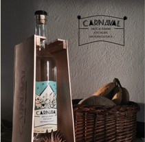 "Etiqueta y envase ""Mezcal Carnaval"". A Graphic Design, and Product Design project by Iván Reyes         - 01.04.2016"