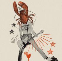 Bilbao Rock Gourmet. Un proyecto de Dirección de arte, Diseño gráfico, Collage, Cop y writing de Marilu Rodriguez Vita - 09-05-2017