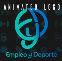 EyD Animated logo. Un proyecto de Diseño, Motion Graphics, Animación, Br, ing e Identidad y Diseño de iconos de Ana del Valle Seoane - 13-05-2017