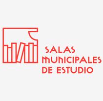 Salas Municipales de Estudio. A Br, ing, Identit, and Graphic Design project by Pedro Luis Alba         - 14.05.2017