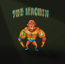 The Machin. A Illustration, and Character Design project by Yumir Canelones         - 19.05.2017