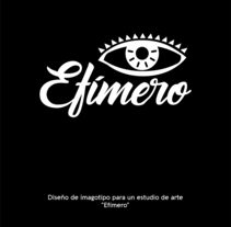 Efímero estudio . A Br, ing&Identit project by Jihad Dipp         - 20.05.2017