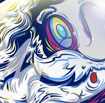 Realicé este Santatróz en base a lo aprendido en las primeras unidades, galería de pinceles personalizada y degradados.... A Illustration, and Vector illustration project by Salvador Rodríguez Rodriguez - 20-05-2017