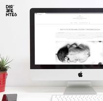 Instituto de Rehabilitación Uroginecológica. Página web con WordPress. A Web Design, and Web Development project by Direfentes         - 19.07.2016