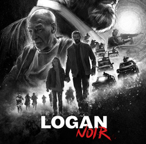 Logan Noir. A Illustration, and Film project by Ignacio RC  - 29-05-2017