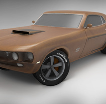Ford Mustang Boss 429. A 3D project by Miguel Angel Luna Armada - 30-05-2017