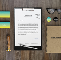 Papelería corporativa. Um projeto de Br, ing e Identidade e Design gráfico de Ashley Claire Studio         - 27.05.2017