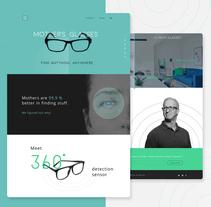 Mother's glasses - Gafas de madre. A Web Design project by Aleksandra Pronina         - 05.06.2017