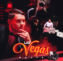 Cover : Las Vegas - Malva. A Design, Advertising, Graphic Design, Post-Production, Street Art, and Digital retouching project by Gustavo Chourio         - 10.06.2017
