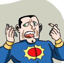 Mi Proyecto del curso: Humor gráfico para principiantes  El virus WannaCry afecta también a los superHéroes. Un proyecto de Ilustración y Comic de Marce Parra         - 12.06.2017