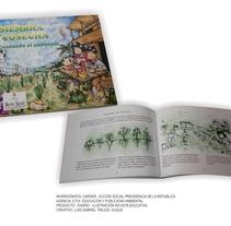 Publicación : Siembra y Cosecha - Gabriel Trejos Duque . Un proyecto de Diseño, Ilustración, Diseño editorial, Diseño gráfico y Comic de Gabriel Trejos Duque - 13-06-2017