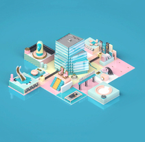 UKTV Purpose. A Motion Graphics, 3D, and Animation project by Alejandro Magnieto Benlliure         - 14.06.2017