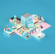 UKTV Purpose. Un proyecto de Motion Graphics, 3D y Animación de Alejandro Magnieto Benlliure - 14-06-2017
