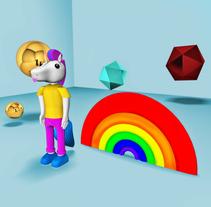 Mi Proyecto del curso: Diseño de personajes en Cinema 4D: del boceto a la impresión 3D. Um projeto de 3D de Jorge Piedrabuena - 14-06-2017