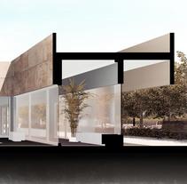 Sección PFC. Sketch. A 3D, Architecture&Interior Architecture project by Jorge Rodríguez Pérez         - 21.06.2017