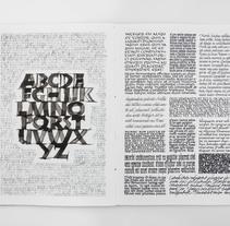 Sketchbook #3. Um projeto de Caligrafia de Joan Quirós - 23-06-2017
