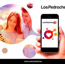 Diseño Logotipo Los Pedroches.es. Un proyecto de Diseño, Diseño gráfico y Marketing de Moisés Miranda - 23-06-2017