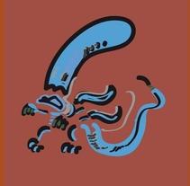 alien sketch. A Illustration project by José María Fernández Sánchez         - 24.06.2017