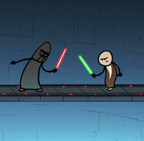 May the Force be with you. Um projeto de Animação e   Animación de personajes de Josep Bernaus         - 12.05.2017