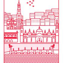 Zaragoza en Iconos. Un proyecto de Ilustración, Infografía y Diseño de iconos de Maria Vicente Cordoba - 29-06-2017