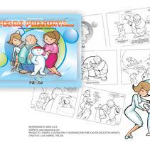 Publiciación: Pedro Pregunta... Hemofilia - Gabriel Trejos Duque . Un proyecto de Diseño, Ilustración y Educación de Gabriel Trejos Duque - 30-06-2017