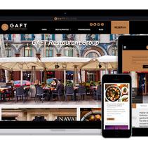Gaft Restaurant Group. Un proyecto de Desarrollo Web de David thehobocode - 01-03-2015