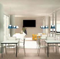 Diseño de Iluminación - Miau Gourmet Café. A 3D, and Lighting Design project by Nerea  - 05-05-2015