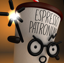 Espresso Patronum. A 3D project by Anderson Silva         - 08.01.2017