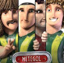 Rigger & Pipeline - Metegol. Un proyecto de 3D, Animación, Cine, Rigging y Animación de personajes de Pablo Emmanuel De Leo - 01-01-2013