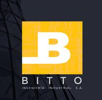 BITTO INGENIERIA INDUSTRIAL S.A.. Un proyecto de Diseño, Br e ing e Identidad de Daniel Maine - 10-07-2017