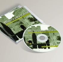 """Carátula y cartel """"Música para el alma"""". Un proyecto de Diseño gráfico de Juan Diego Bañón Muñoz - 10-11-2012"""