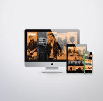 The Wire (WEB RESPONSIVE). Um projeto de Web design de Sara Sánchez Vargas         - 14.07.2017