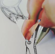 Tattoo. Um projeto de Design e Ilustração de Eva Consuegra         - 24.06.2017
