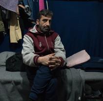 El refugiado sin pasado. A Photograph project by Daniel Rivas Pacheco         - 20.06.2017