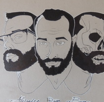 autorretrato/ self portrait. Un proyecto de Ilustración de El Lino de Adàn AR         - 20.07.2017