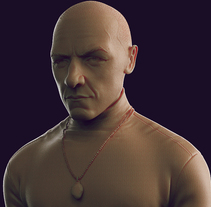 Fan art de Split (James McAvoy). Un proyecto de 3D de Jesús Chacón         - 01.07.2017