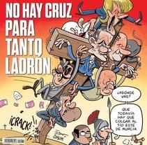 Portadas (y portadas interiores) para El Jueves.. Un proyecto de Comic de Raúl Salazar - 01-08-2017