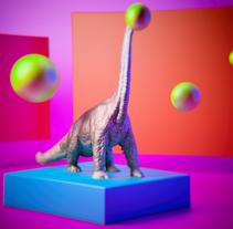 Mi Proyecto del curso: Introducción exprés al 3D: de cero a render con Cinema 4D. A 3D project by ericgaca - 11-08-2017