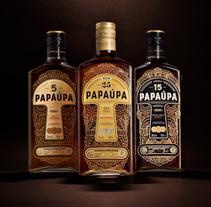 Ron Papaúpa. Un proyecto de Ilustración, Br, ing e Identidad y Packaging de Estudio Maba  - 16-08-2017