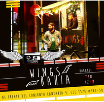 Wings Bahia. A Design, and Advertising project by Mike sandoval         - 16.08.2017