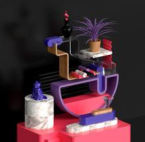 Bodegón. Un proyecto de 3D de Miaggy San - 24-08-2017