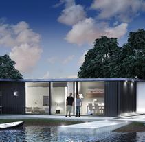 Casa en el lago. Un proyecto de 3D de DAVID GRAU         - 23.08.2014