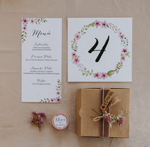 Invitación de boda M+J. A Graphic Design project by Virginia Corona Blanco         - 20.01.2017