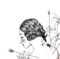 Flowers and arrows. Un proyecto de Ilustración de Gisela Navarro - 31-08-2017