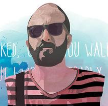 I Walked. Um projeto de Ilustração e Ilustración vectorial de Pablo Cinto         - 04.09.2017
